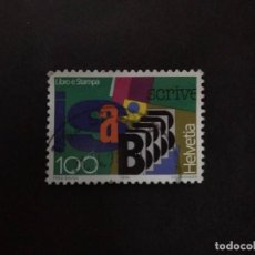 Francobolli: SUIZA 1994. BOOK AND PRESS. MI:CH 1522, YT:CH 1451,. Lote 224261406