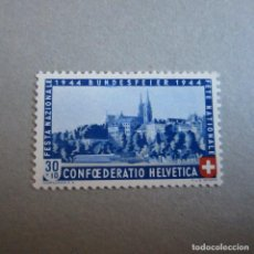 Sellos: SUIZA 1944 ZUMSTEIN Nº 25*, PRO PATRIA. Lote 225783560