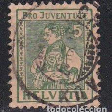 Sellos: SUIZA 1917 - SELLO USADO YVERT Nº 155. Lote 226136425