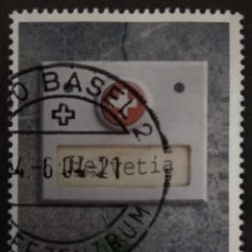 Sellos: SUIZA 2004. NATIONAL SYMBOLS. YT:CH 1801,. Lote 228258650