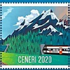 Sellos: SELLOS NUEVOS DE SUIZA 2020, CENERI 2020. Lote 228416045
