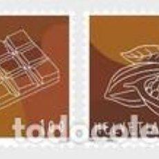 Sellos: SELLOS NUEVOS DE SUIZA 2020, CHOCOLATES. Lote 228441355