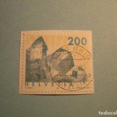 Sellos: SUIZA 2002 - MINERALES, CRISTAL DE CUARZO.. Lote 229678315
