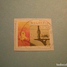 Sellos: SUIZA 2000 - IGLESIA, VINO Y AGUA.. Lote 229679810