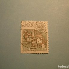 Sellos: SUIZA 1985 - PAISAJE DE LENZ - ESCORPIÓN.. Lote 229733430