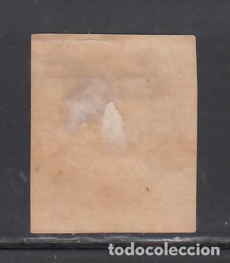 Sellos: SUIZA, 1854-62 YVERT Nº 31, 1 f. gris. - Foto 2 - 231819265