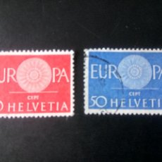Sellos: SUIZA 1960, EUROPA. Lote 236135055