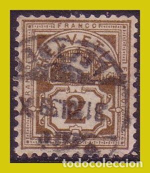 SUIZA 1882, IVERT Nº 58 (O) (Sellos - Extranjero - Europa - Suiza)