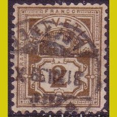 Sellos: SUIZA 1882, IVERT Nº 58 (O). Lote 237001940