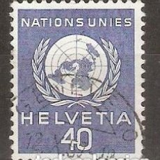 Sellos: SUIZA.1955. SERVICIO. YT 366.NACIONES UNIDAS. Lote 238740150
