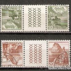 Timbres: SUIZA.1948. TETE BECHE. YT 462A,463A. Lote 238740310