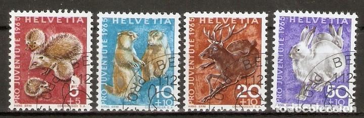 SUIZA.1965. FAUNA (Sellos - Extranjero - Europa - Suiza)