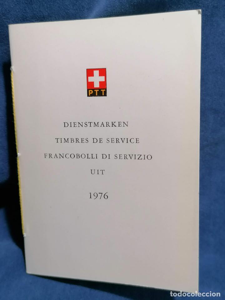 Sellos: Suiza Lote 6 Sets Oficiales De Correos año 1976 matasellos conmemorativo - Foto 6 - 241053220