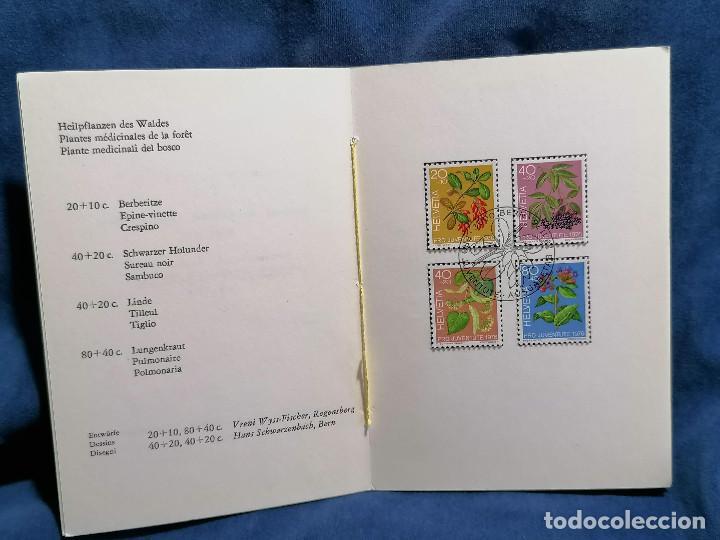 Sellos: Suiza Lote 6 Sets Oficiales De Correos año 1976 matasellos conmemorativo - Foto 7 - 241053220