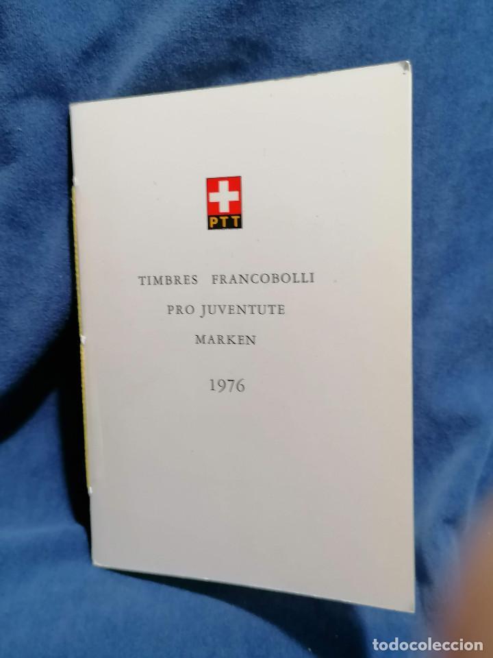 Sellos: Suiza Lote 6 Sets Oficiales De Correos año 1976 matasellos conmemorativo - Foto 8 - 241053220