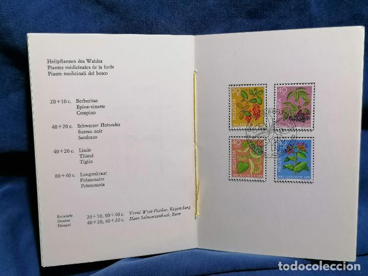 Sellos: Suiza Lote 6 Sets Oficiales De Correos año 1976 matasellos conmemorativo - Foto 14 - 241053220