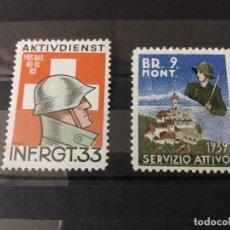 Sellos: SUIZA SEGUNDA GUERRA MUNDIAL WWII.. Lote 243076340