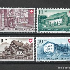 Timbres: SUIZA 1949 MICHEL 525/528 ** MNH - 1/29. Lote 143745166