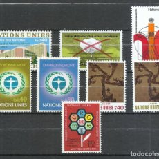 Sellos: NACIONES UNIDAS (GINEBRA) - 1972 - MICHEL 22/29** MNH (AÑO COMPLETO). Lote 245238310