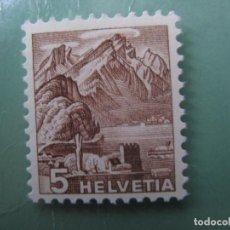 Sellos: SUIZA, 1948, YVERT 461. Lote 245730990