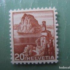 Sellos: SUIZA, 1948, YVERT 463. Lote 245731170