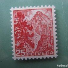 Sellos: SUIZA, 1948, YVERT 464. Lote 245731260