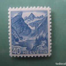 Sellos: SUIZA, 1948, YVERT 466. Lote 245731530