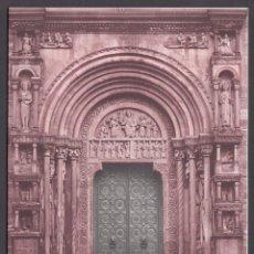 Sellos: SUIZA. 1983, PTT PORTAL ST. GALL. CATEDRAL DE BASEL. TARJETA DE FELICITACIÓN NAVIDAD.. Lote 246052545