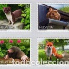 Sellos: SELLOS NUEVOS DE SUIZA 2021, ANIMALES. Lote 254685550