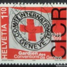 Sellos: SUIZA 1999 CENTENARIO CONVENCION DE GINEBRA. Lote 256098430