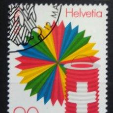 Sellos: SUIZA 1998 TEMA EUROPA CEPT SELLO USADO. Lote 256105340
