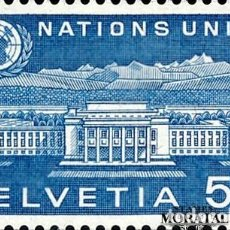 Timbres: 1960 SUIZA YV S-410 15ª ANIVERSARIO ONU (YVERT&TELLIER). Lote 257375480