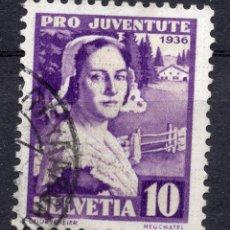 Francobolli: SUIZA 1936 STAMP ,, MICHEL 307. Lote 258122150