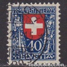 Sellos: SUIZA 1923 - SELLO USADO YVERT Nº 195. Lote 260405940