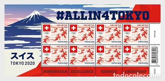 SWITZERLAND 2021 - SUMMER OLYMPIC GAMES 2021 SHEET (Sellos - Extranjero - Europa - Suiza)