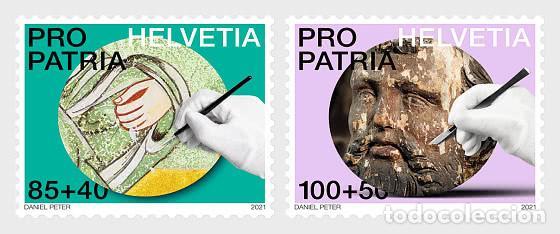 SWITZERLAND 2021 - PRO PATRIA − CRAFTSMANSHIP AND CULTURAL HERITAGE STAMP SET MNH (Sellos - Extranjero - Europa - Suiza)