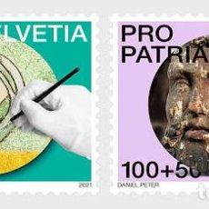 Sellos: SWITZERLAND 2021 - PRO PATRIA − CRAFTSMANSHIP AND CULTURAL HERITAGE STAMP SET MNH. Lote 262572080