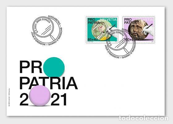 SWITZERLAND 2021 - PRO PATRIA − CRAFTSMANSHIP AND CULTURAL HERITAGE FDC (Sellos - Extranjero - Europa - Suiza)