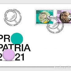 Sellos: SWITZERLAND 2021 - PRO PATRIA − CRAFTSMANSHIP AND CULTURAL HERITAGE FDC. Lote 262572295