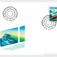 Sellos: SWITZERLAND 2021 - 150 YEARS OF RIGI RAILWAYS FDC. Lote 262573075