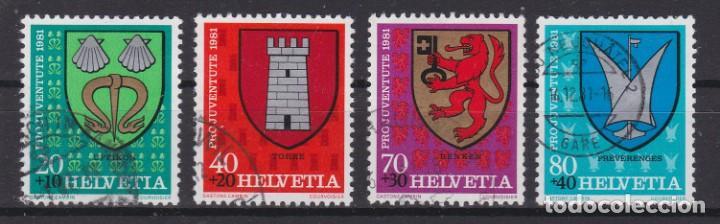 SUIZA 1981 - SERIE COMPLETA MATASELLADA (Sellos - Extranjero - Europa - Suiza)