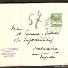 Sellos: SUIZA. 1928. FAJA PERIÓDICO S44. Lote 262915535