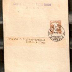 Sellos: SUIZA. 1919. FAJA PERIÓDICO S31. Lote 262915965