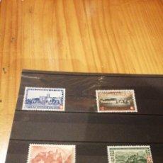 Sellos: SELLOS SUIZA, 395-398 DE 1944. Lote 263196665