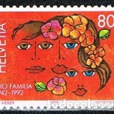 Sellos: SUIZA IVERT 1396, 50 ANIVERSARIO DE LA ORGANIZACIÓN PRO PATRIA, NUEVO. Lote 269290158
