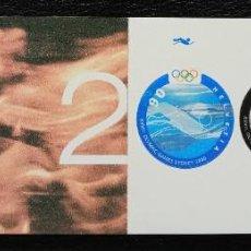 Sellos: SUIZA - CARNET COMPLETO - J.J. O.O. SIDNEY 2000 - IVERT Nº C1651 - VER LAS 2 FOTOS. Lote 269334873