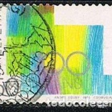 Sellos: SUIZA EDIFIL Nº 1370, LA CULTURA ENTRE LAS CUATRO REGIONES LINGUISTICAS SUIZAS. USADO. Lote 269447988