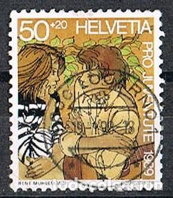 SUIZA EDIFIL Nº 1334, LA FORMACIÓN PROFESIONAL, USADO (Sellos - Extranjero - Europa - Suiza)