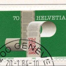 Sellos: SUIZA , 1983 , MICHEL 1247. Lote 276613763