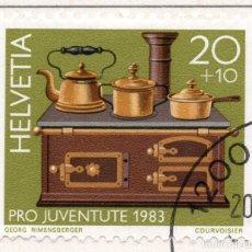 Sellos: SUIZA , 1983 , MICHEL 1260. Lote 276614193